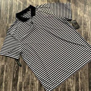 Nike Dri-Fit Stripe Polo Shirt Men's XL